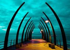 Umhlanga Whalebone Pier Royalty Free Stock Images
