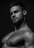 Umięśniony samiec model Konstantin Kamynin obraz royalty free
