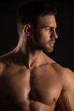 Umięśniony samiec model Konstantin Kamynin Zdjęcia Royalty Free