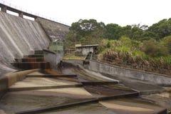 Umidade da água em Hoi Pui Reservoir em Hong Kong imagens de stock