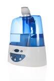 Umidificatore con il purificatore ionico dell'aria fotografia stock