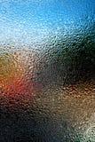 Umidità della finestra Fotografia Stock