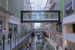 Famous Umie Shopping mall in Haborland Kobe  Royalty Free Stock Image