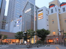 Umie Shopping mall in Haborland Kobe Stock Images