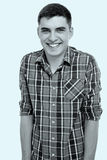 Uśmiechnięty faceta portret Zdjęcie Royalty Free