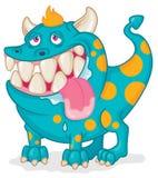 Szczęśliwy drooling zwierzę domowe potwór Zdjęcie Royalty Free