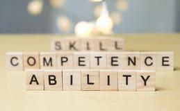 Umiejętności zdolności kompetencja, biznes Formułuje wyceny pojęcie zdjęcia royalty free