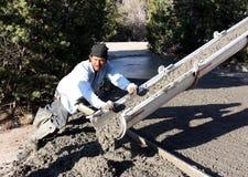 Umieszczać beton zdjęcia royalty free