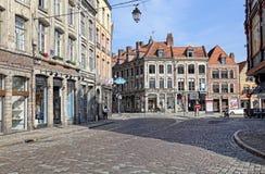 Umieszcza Louise De Bettignies w Lille, Francja Obrazy Royalty Free