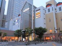 Umiewinkelcomplex in Haborland Kobe stock afbeeldingen