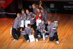 Umka team at Hip Hop International Cup Stock Image
