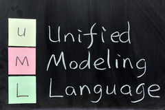 UML, Unified Modeling Language Stock Image
