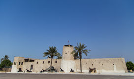Umm Al Quwain muzeum - Zjednoczone Emiraty Arabskie obrazy royalty free