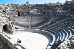 Umm Qais Amphitheater in Jerash Stock Photo