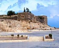 Umm Qais (Gadara), Jordanië Stock Foto's