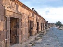 Umm Qais (Gadara), Jordania imagenes de archivo