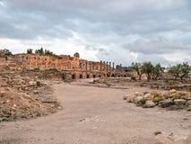 Umm Qais (Gadara), Jordania Foto de archivo libre de regalías