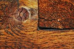 ummauern Sie Antiquitätens-Ingwerfarbe der Makronahaufnahmetageshintergründe hölzerne alte Lizenzfreie Stockfotografie