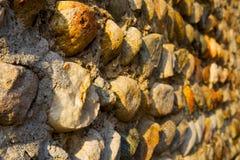 Ummauern Sie Mailand in altem Ziegelstein Italiens das abstrakte backgroun Stockbild