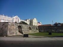 Ummauerte Stadt von Cartagena de Indias Stockfoto