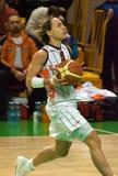 UMMC CONTRA la cesta Taranto de Cras. Euroleague 2009-2010. Imágenes de archivo libres de regalías
