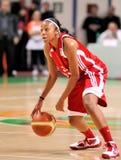 UMMC contra TEO. Baloncesto Euroleague 2009-2010 de las mujeres Fotografía de archivo