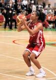 UMMC contra TEO. Baloncesto Euroleague 2009-2010 de las mujeres Fotos de archivo