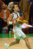 UMMC CONTRE le panier Tarente de Cras. Euroleague 2009-2010. Images libres de droits