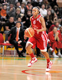 UMMC contre TEO. Basket-ball Euroleague 2009-2010 de femmes Image libre de droits