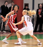 UMMC contre TEO. Basket-ball Euroleague 2009-2010 de femmes Images stock
