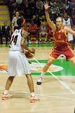 UMMC CONTRO Galatasaray. Euroleague 2009-2010 Fotografia Stock Libera da Diritti