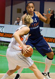 UMMC contro il ROS Casares. Euroleague 2009-2010. immagini stock libere da diritti