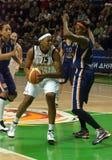 UMMC contro il ROS Casares. Euroleague 2009-2010. fotografia stock libera da diritti