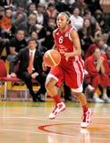 UMMC contro TEO. Pallacanestro Euroleague 2009-2010 delle donne Immagine Stock Libera da Diritti