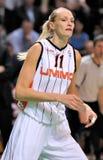 UMMC contro TEO. Pallacanestro Euroleague 2009-2010 delle donne Immagini Stock Libere da Diritti