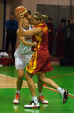 UMMC VERSUS Galatasaray. Euroleague 2009-2010. Stock Afbeeldingen