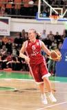 UMMC versus TEO. Het basketbal Euroleague 2009-2010 van vrouwen Stock Fotografie