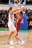 UMMC vs TEO. Women basketball Euroleague 2009-2010 Royalty Free Stock Images
