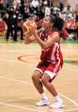 UMMC vs TEO. Women basketball Euroleague 2009-2010 Stock Photos