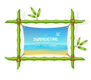 Ummer beach background Stock Images