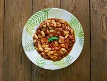 Umngqusho Bantu dish Stock Image