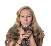Umore del caffè di mattina Fotografia Stock