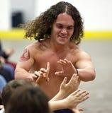 Umore del nano del lottatore Immagini Stock Libere da Diritti