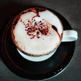 Umore della tazza di caffè Fotografia Stock