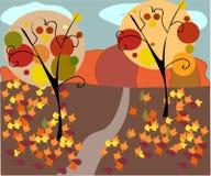 Umore di autunno illustrazione vettoriale