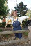 Umore di autunno e decorazione di Halloween Immagini Stock Libere da Diritti