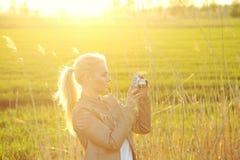 Umore di estate Fotografie Stock