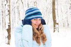 Umore di inverno Fotografia Stock