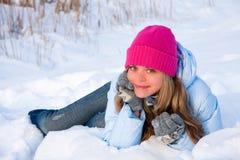 Umore di inverno Fotografia Stock Libera da Diritti