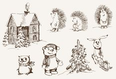 Umore di Natale illustrazione di stock